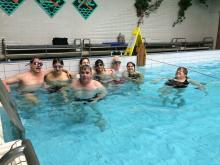 plavání na Homolce