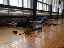 Odzkoušení zvukové pušky v Plzni