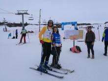 S Honzou po závodě v obřím slalomu